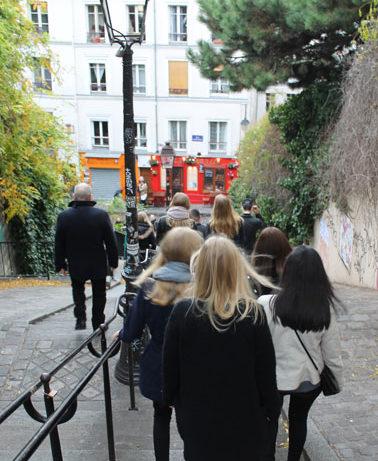 Sprogtur til Paris