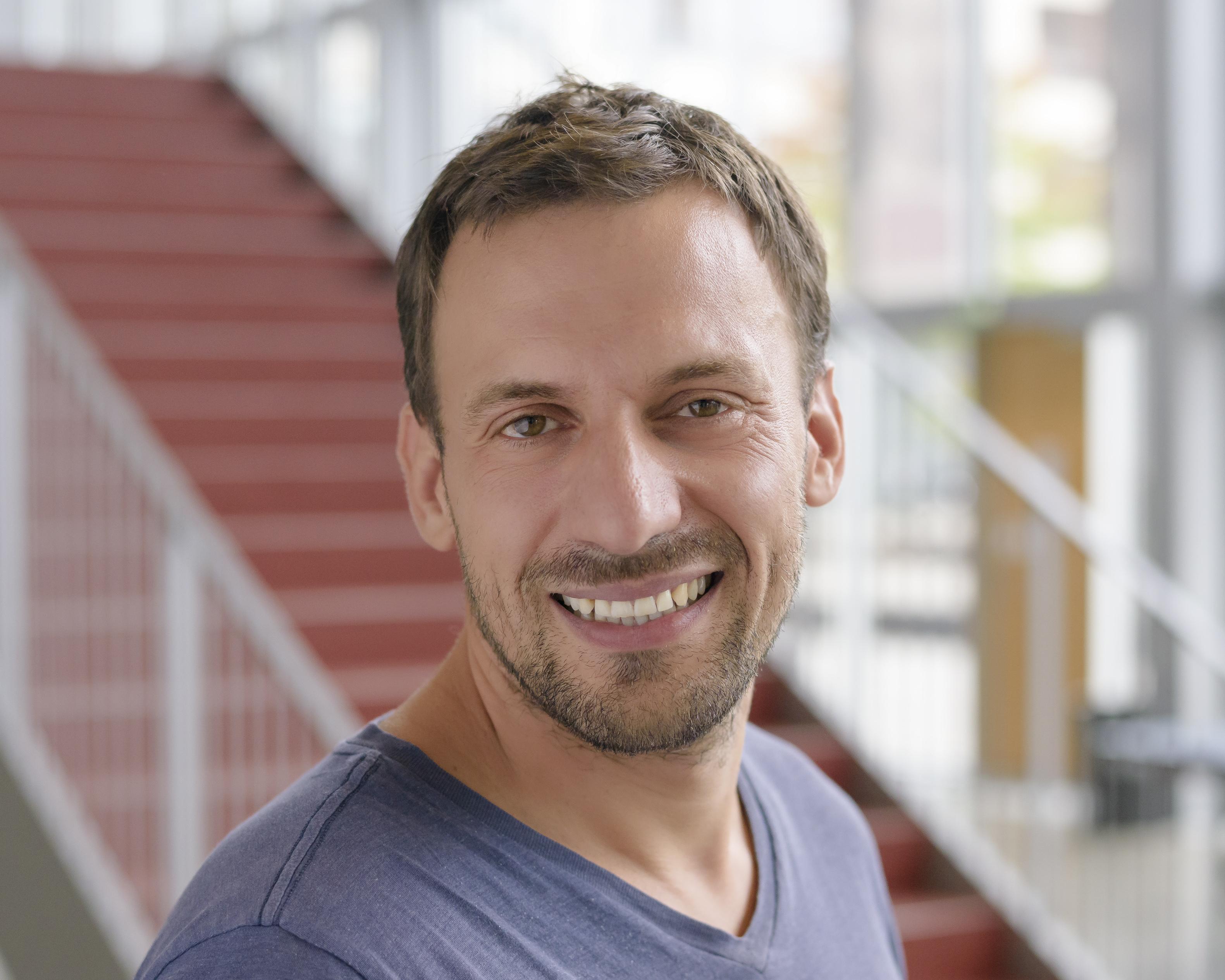Foto af studievejleder Joachim Ohrt Fehler